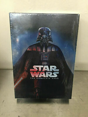 Star Wars: The Complete Saga (DVD, 9-Disc Set, Boxed Set) - BRAND NEW