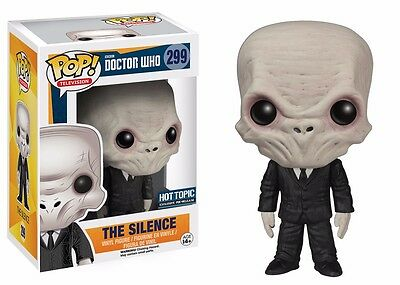 Funko Pop! TV Doctor Who The Silence Vinyl Action Figure
