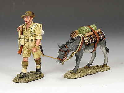 KING /& COUNTRY EIGHTH ARMY EA122 BRITISH DUSTY MILLER MIB