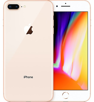 Apple iPhone 8 Plus - 64GB AT&T Gold A1864