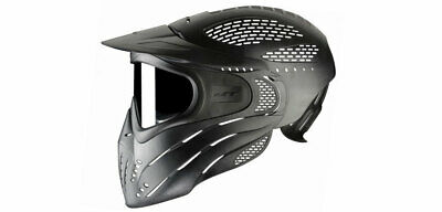 Paintball Maske JT Premise Headshield / Fullhead single schwarz