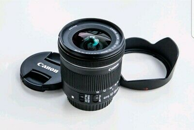 Canon EF-S 10-18mm f/4.5-5.6 IS STM Objetivo para Canon EF-S - Negro, sin uso.