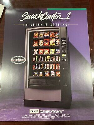National Vendors Chilled Snack Vending Machine 167