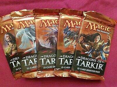 Magic The Gathering DRAGONS OF TARKIR New Sealed Booster Pack MTG