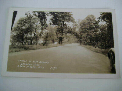 [F1] Vtg travel vacation postcard Michigan - ORCHARD LAKE, KEEGO HARBOR MI photo