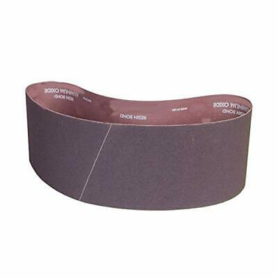 Pack of 10 240 Grit VSM 121017 Abrasive Belt Aluminum Oxide Brown Cloth Backing Fine Grade 4 Width 54 Length