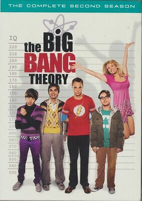 The Big Bang Theory - The Complete Second Season (DVD, 2009, 3-Disc Set) NEW