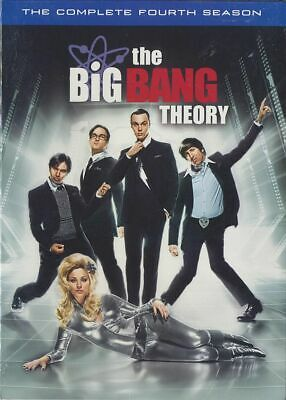 The Big Bang Theory: The Complete Fourth Season (DVD, 2011, 3-Disc Set) NEW