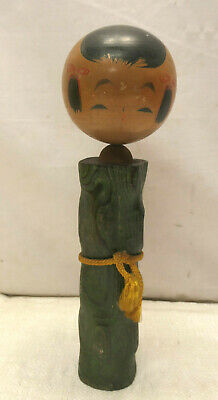 Kokeshi Creative Style Wooden Japanese Doll Handpainted Wood Vintage  #613
