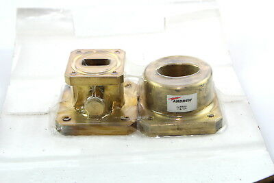 Andrew 1127SC Fixed-tuned WR75 Pressurizable Cover Flange