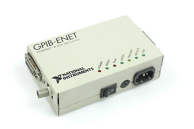 National Instruments ni Gpib-Enet Ethernet Gpib Controlador 181950G-31 Rev 1
