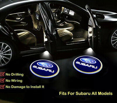 Subaru Courtesy Laser Door Puddle Lights Projects Subaru Logo Clearly On Ground