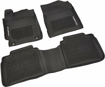 🔥 Genuine OEM All-Weather Rubber Floor Mat Set for Toyota Camry 2015-2017 🔥