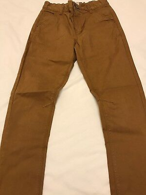 Next Taupe Chino Style Jeans Age 12 Excellent Condition