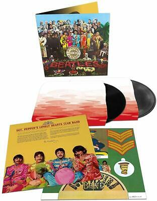 "Beatles "" Sgt Peppers Lonely Hearts Club Band "" Rare Double Anniversary Edition"