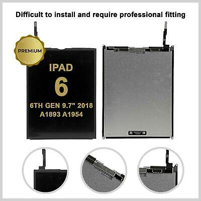 "Lcd Display Screen Panel For Apple iPad 6 6th Gen 9.7"" 2018 A1893 A1954 Genuine"