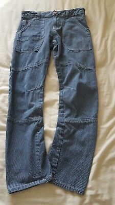 pair of boys stripe jeans age 12 from next