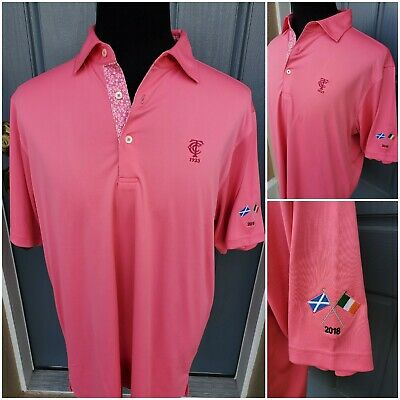 Timuguana Donald Ross Polo Mens Medium