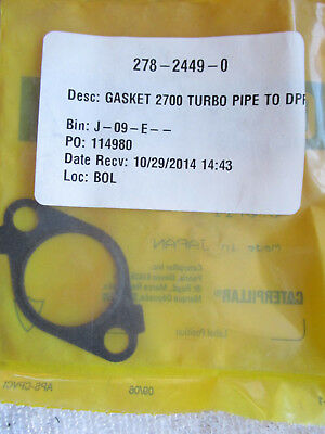 New CAT /Caterpillar 2782449X / 07011 / 278-2449-0 Gasket 2700 Turbo Pipe to DPR