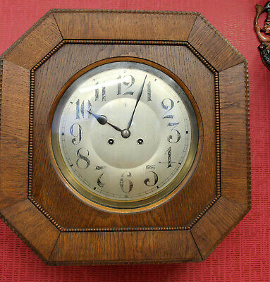 Antique Wall Clock Regulator Clock 19th century *JUNGHANS*