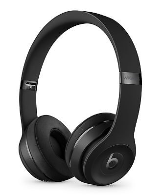 Brand New Beats by Dr. Dre Solo3 Wireless Over the Ear Headphones - Matte Black