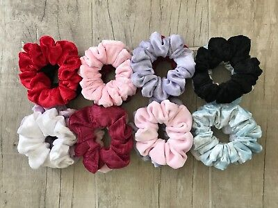 Two pack of Velvet Scrunchies Dance Accessories Womens Scrunchie