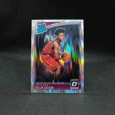 2018-19 Collin Sexton Donruss Optic Rated Rookie Shock Rookie Card