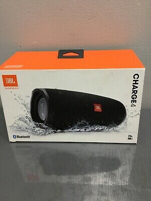 JBL Charge 4 Portable Waterproof Wireless Bluetooth Speaker - Black 001179