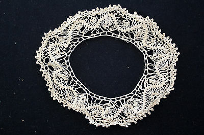 Antique Early 20Th C Hand Crochet Lace Doilie