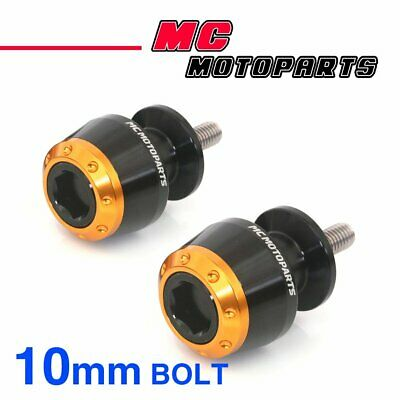 8mm Rear ATOM Swingarm Spools Sliders For Suzuki GSX-S750 2015-2017 15 16 17