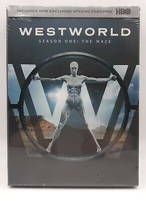 Westworld: The Complete First Season (DVD, 2017, 3-Disc Set) NEW SEALED