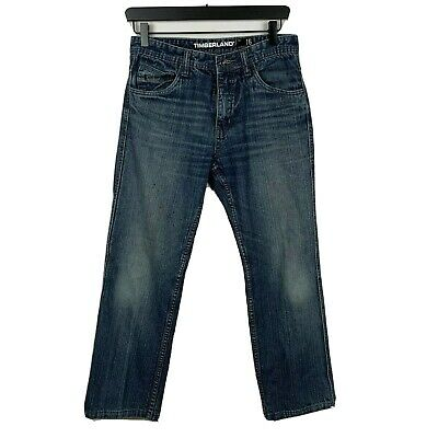 Timberland Boys Jeans 24x25 Blue Medium Wash