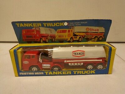 1980's Friction Drive Texaco Tanker Truck