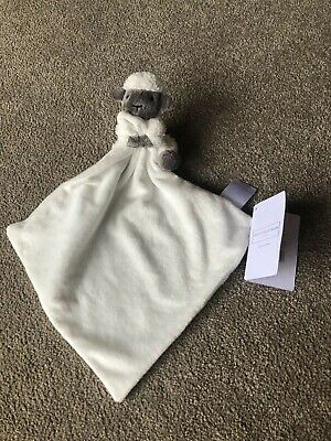The Little White Company Unisex Luna Lamb / Sheep Baby Comforter / Blankie BNWT