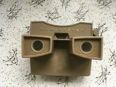 Vintage Retro Toy Light Brown Plastic Viewmaster NO DISCS