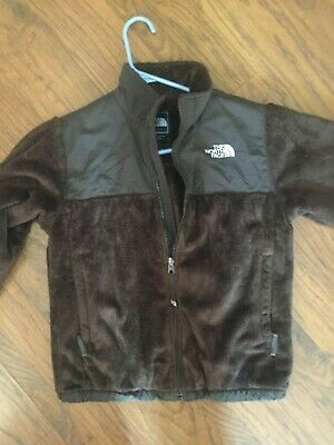 Girls  L   North Face Fleece Jacket    ! Chocolate !