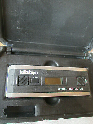 Mitutoyo PRO 360 Digital Protractor With Case. 950-317. Recent Calibration!