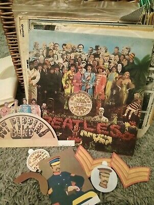 Very Rare Original Beatles Sgt.Peppers Lonely Hearts Club Band Lp
