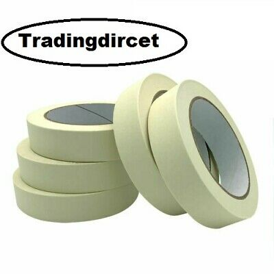 Masking Tape Indoor Outdoor Diy Painting Decorating Easy Tear 50M Blue Uv White