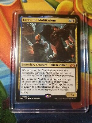 LAZAV THE MULTIFARIOUS Guilds of Ravnica MTG Gold Creature—Shapeshifter Mythic