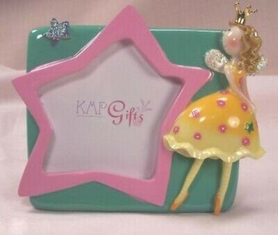 Fairy Princess Star Frame.  New in Box. King-Max  #76166-A