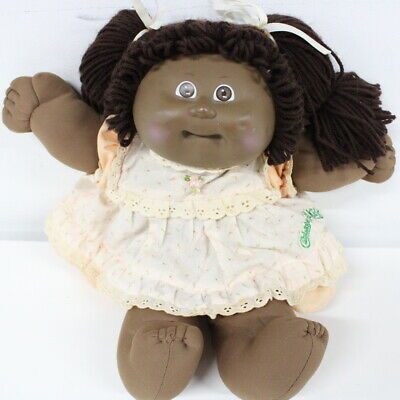 Vintage 1978- 1982 African American Cabbage Patch Doll #602