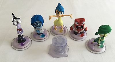 Disney Infinity 3.0 Figure Set 8 Inside Out Starter + Portal with Game & Stone
