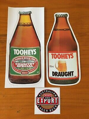 Beer Fridge Stickers , Vintage