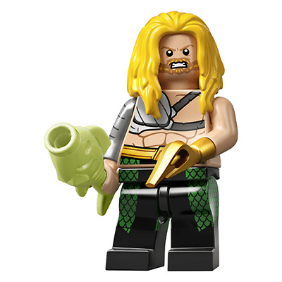 Lego Minifigure DC Super Heroes Series - #3 Aquaman 71026 BRAND NEW