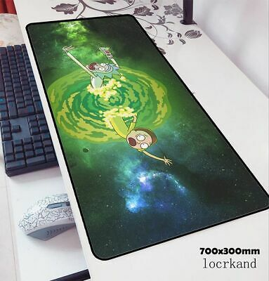 Rick And Morty Mouse Pad 70x30cm Gaming Mousepad Anime Desk Mat HD Pattern Games