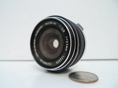 EXCELLENT+++ OLYMPUS OM-SYSTEM H ZUIKO AUTO W 24mm F/2.8 Lens from JAPAN