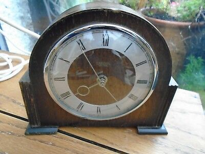 Vintage Smiths Sectric  Mantel clock Made in England