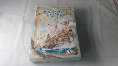 Race To The New Found Land Board Game (Damaged Box) Brand New & Sealed
