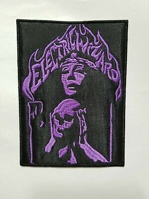 Electric Wizard Purple Logo Embroidered Patch